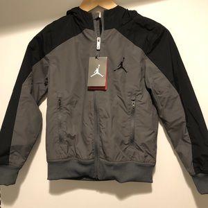 b5493cc75573 Jordan Jackets   Coats - NWT Boys Jordan Jumpman Jacket- Size S (8-